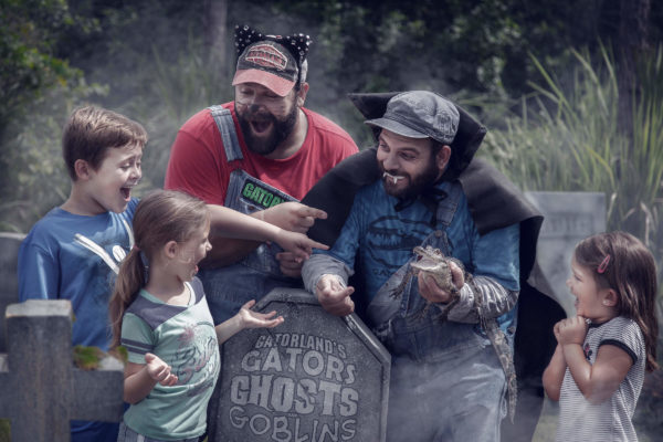 Spooky fun at Gators, Ghosts and Goblins, Gatorland's Halloween event!