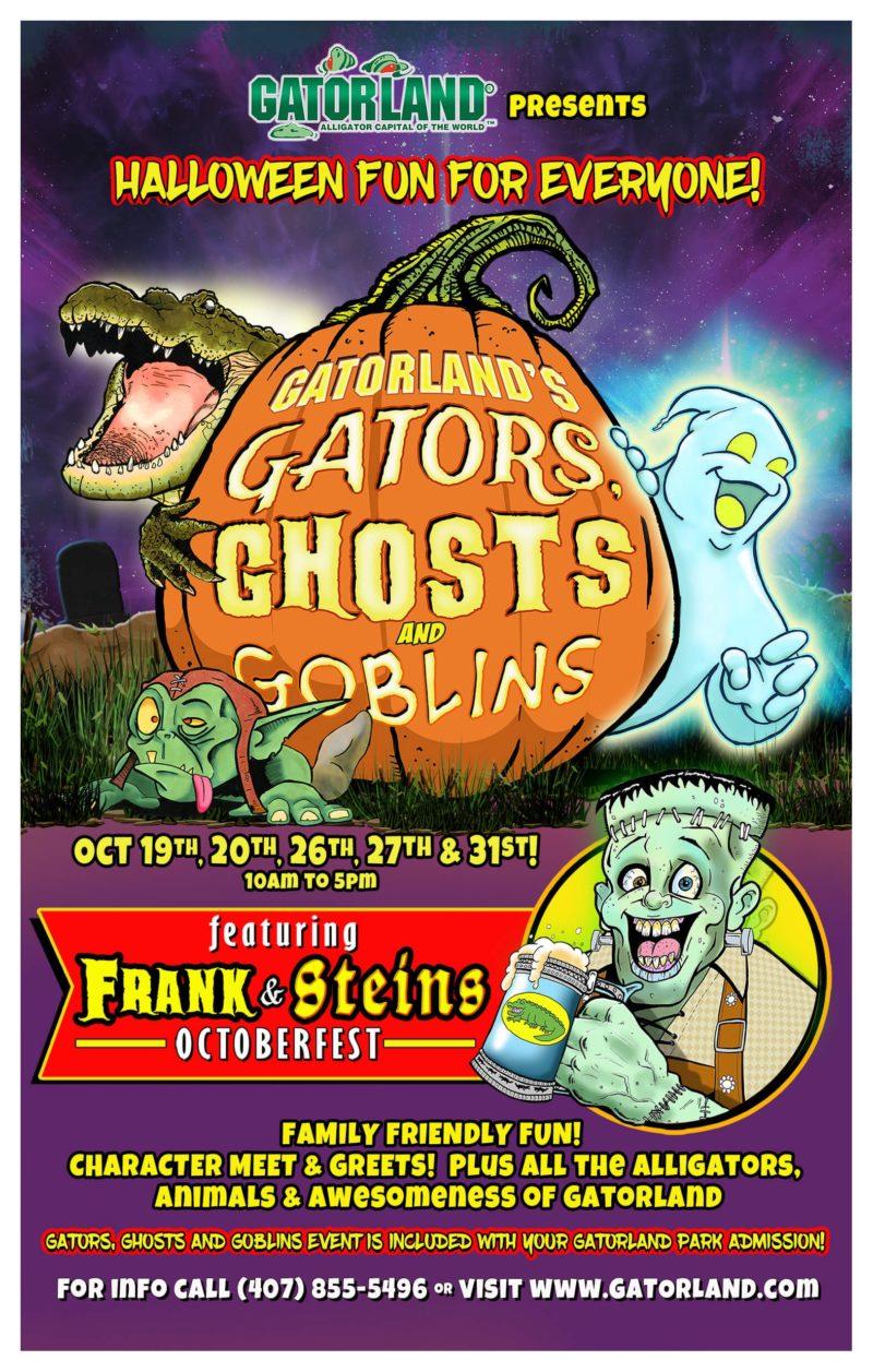 GATORLAND'S Gators, Ghosts, & Goblins