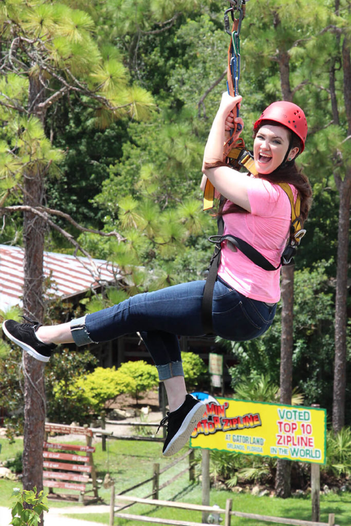 Screamin Gator Zipline at Gatorland