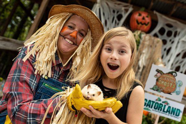 Gators, Ghosts and Goblins, Gatorland's Halloween event!