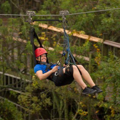 Gator Gauntlet Rider | Gatorland | Orlando Florida Family Adventure Theme Park