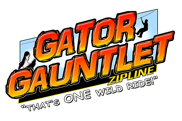 Gator Gauntlet Zipline | Gatorland | Orlando Florida Family Adventure Theme Park