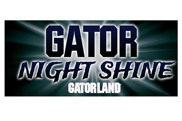 Gator Night Shine | Gatorland | Orlando Florida Family Adventure Theme Park