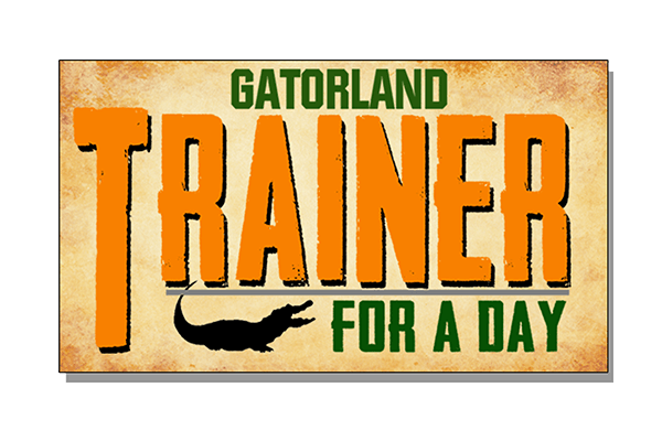 Trainer for a Day | Gatorland | Orlando Florida Family Adventure Theme Park