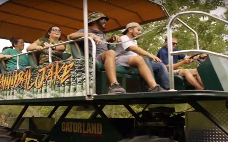 Stompin' Gator Off-Road | Gatorland | Orlando Florida Family Adventure Theme Park