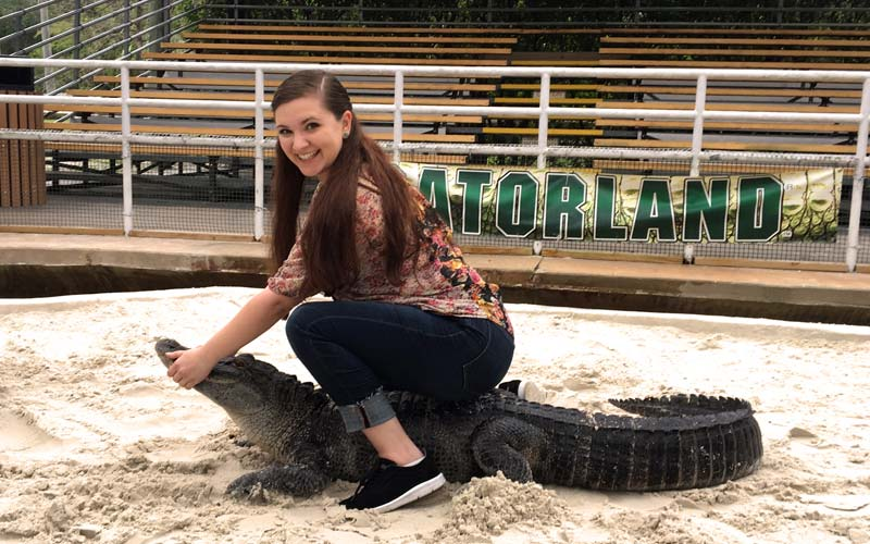 Rookie Wrestling | Gatorland | Orlando Florida Family Adventure Theme Park